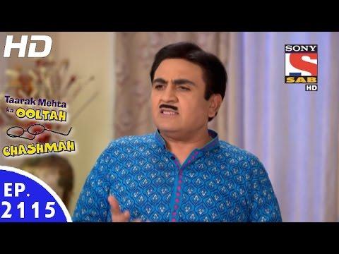 Taarak Mehta Ka Ooltah Chashmah - तारक मेहता - Episode 2115 - 13th January, 2017