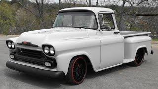 1958 Chevrolet Street Truck Steve Holcomb Pro Auto Custom Interiors