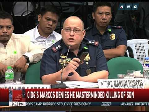 The World Tonight: Cop's widow tags CIDG's Marcos in husband's killing