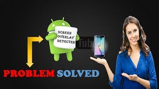 How to fix screen overlay detected in Hindi