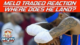 Will Thunder Be Better Team Without Carmelo Anthony ? | Hoops N Brews