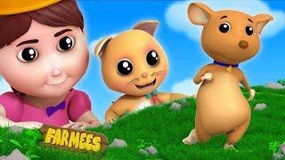 Pussy Cat   English Nursery Rhymes   Kindergarten Videos For Kids by Farmees