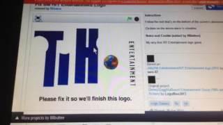 Fixing the Hit Entertainment logo