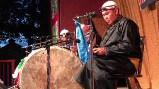 ALASH at Old Songs Folk Festival, June 2017, Tuvan Throat Singing