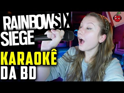 RAINBOW SIX SIEGE: KARAOKÊ DA BD! Ft. Nesk, oNe e Bullet1!