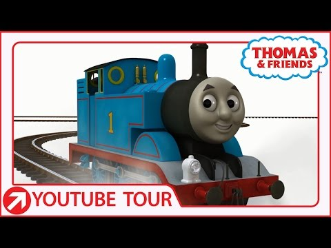 Thomas Leaves Sodor!   YouTube World Tour   Thomas & Friends
