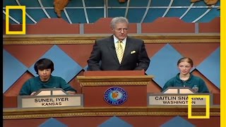 Final Question | National Geographic Bee 2007