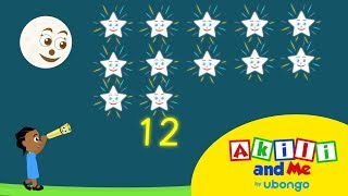 Learn to Count in Swahili with Akili and Me | African Educational Songs and Cartoons