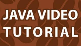 Java Video Tutorial