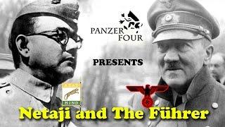 Netaji Subhash Chandra Bose meets Führer Adolf Hitler