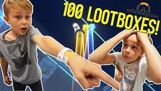 OVERWATCH → Öppnar 100 st LOOT BOXES! | Event Summer Games