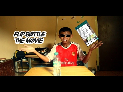 CHALLENGE ACCEPTED   FLIP BOTTLE THE MOVIE (Ft. Youtubers Madiun)