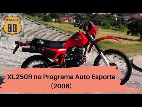 Programa Auto Esporte 2006 motos de 250cc