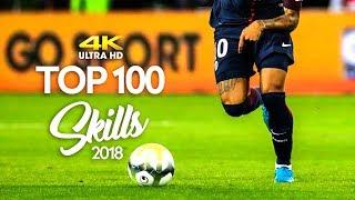 TOP 100 Skill Moves 2017   4K