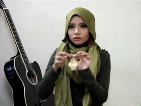 pashmina and earrings tutorial