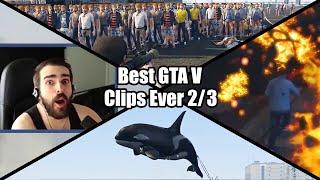 The Best Glitches, Fails And Luck - GTA Speedrun Highlights #50 (2/2)
