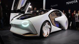تويوتا تبدأ عام 2017 بسيارة متطورة للغاية