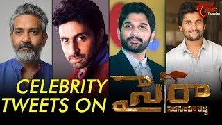 Celebrities Response On Sye Raa Narasimha Reddy