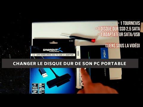 Changer disque dur d ordinateur portable et le remplacer par un disque ssd sans réinstaller windows