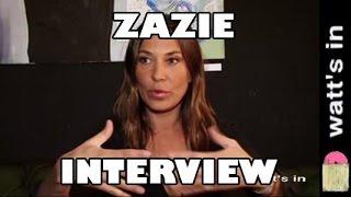 Zazie : Encore Heureux Interview Exclu