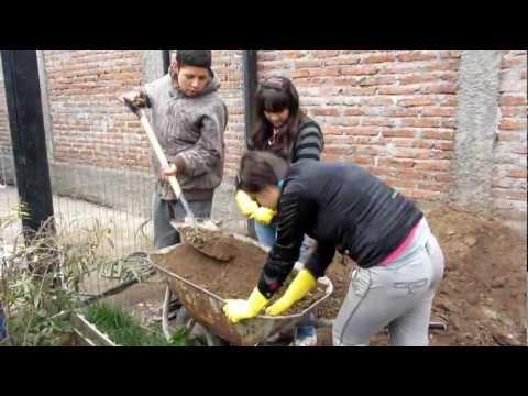 Construcción Horno de Barro Colegio Alicura