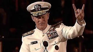 Admiral McRaven Leaves the Audience SPEECHLESS | One of the Best Motivational Speeches