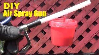 DIY Air Spray Paint Gun