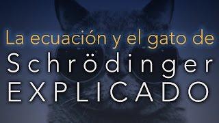 La ecuación y el gato de Schrödinger EXPLICADO (sin fórmulas)