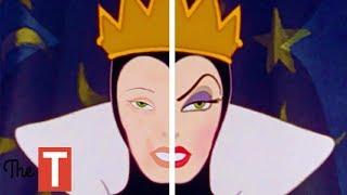 10 Disney Villains Without Makeup