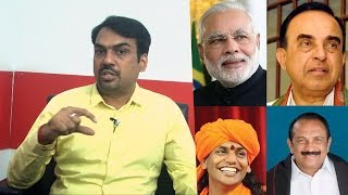 Rangaraj Pandey Interview : My challenging interveiws are with Modi, Vaiko..| Biography