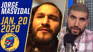 Jorge Masvidal leaning towards fighting Kamaru Usman over Conor McGregor | Ariel Helwani
