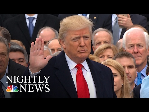 watch President Donald Trump: The 45th President Of The United States   NBC Nightly News