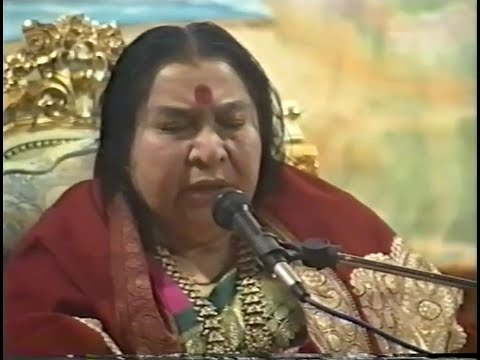 1992-0927 1st Day of Navaratri Puja Talk, 10th Position, Cabella, Italy, CC
