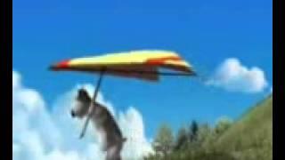 bunty flying in the air punjabi funny) 0
