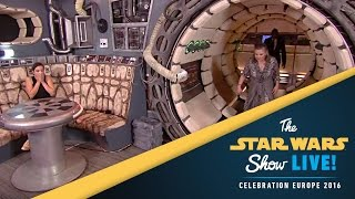 Carrie Fisher Interview   Star Wars Celebration Europe 2016