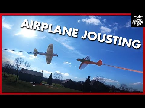 RC Dogfighter Jousting Game FLITE TEST