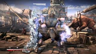 Mortal Kombat X Scropoin ass whooping