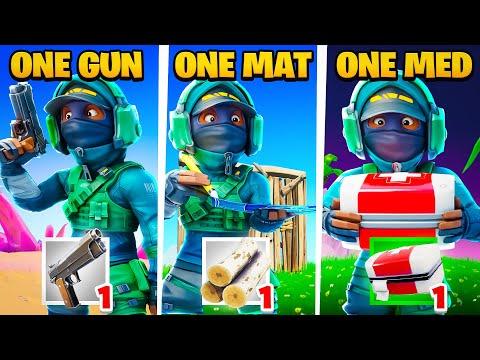 ONE GUN ONE MED ONE MAT