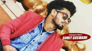 Sumit goswami :- Red eyes song haryanvi song