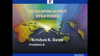 'Developing Supply Strategies'