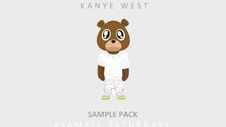 #SampleSaturdays - Kanye West/Yeezus Drums, basslines, synths and more!