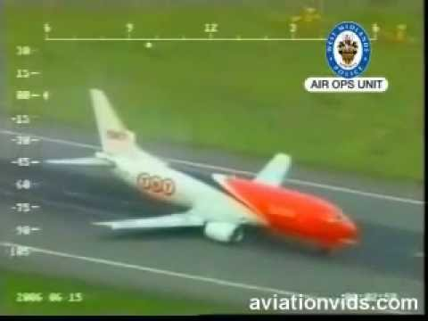 Boeing 737 accident during landing