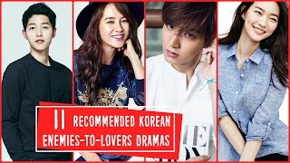 11 Recommended Korean Enemies to Lovers Dramas