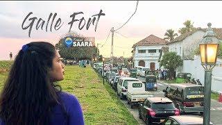 Travel With Saara |  Galle Fort Sri Lanka | TRAVEL VLOG #4