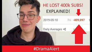 James Charles Losing Subs EXPLAINED! #DramaAlert Tati Westbrook UNLEASHED! James Charles Apology!
