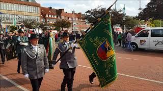 Schützenfest Emden 2017 - Aufmarsch vor dem Rathaus am Delft und Ansprache vom Bürgermeister
