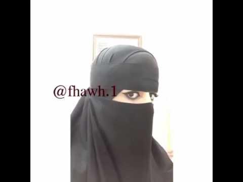 Sexy woman niqab veil ruband burqa chadri paranja trick