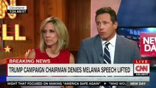 CNN panel on Melania Trump