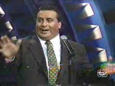 DINO GORDILLO EN PROGRAMA DEL MISS MUNDO DE CANAL 13 1998