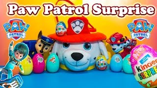 Exploring the Paw Patrol Surprise Eggs & Basket with Miles Tomorrowland